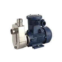Small Non Clogged Stainless Steel Self Priming Oil Pump