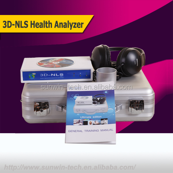 SW-08A Updated Version 3dnls quantum body health analyzer support many languages