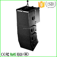 Dual 10 Inch Line Array Speaker