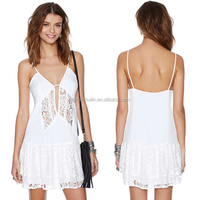 Fashion clothing design new cheap casual girls polyester dresses new feeling clothing