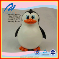 penguin shaped crafts for money box