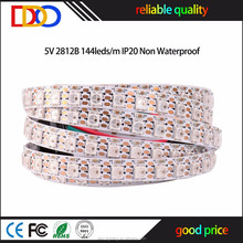 Factory Wholesale ws2812b 144 led pixel strip with very good factory price
