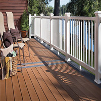 Factory Direct wood plastic pontoon decking