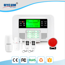 Wireless GSM Alarm Keypad Security Alarm System With Pir Motion Sensors