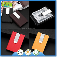 Aluminum Money Clips Slim Credit Card Metal Rfid Protector Holder