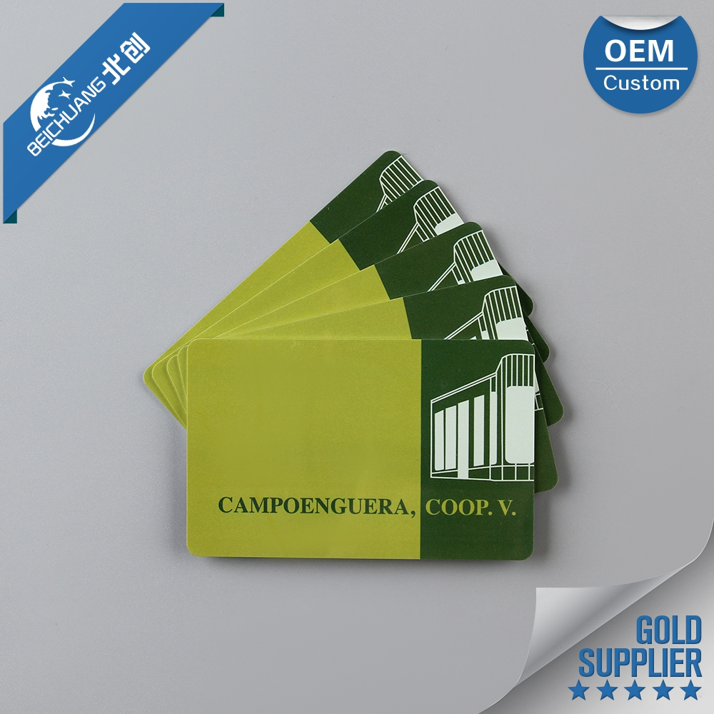 Wholesale printing cheap embossed magnetic plastic pvc business card