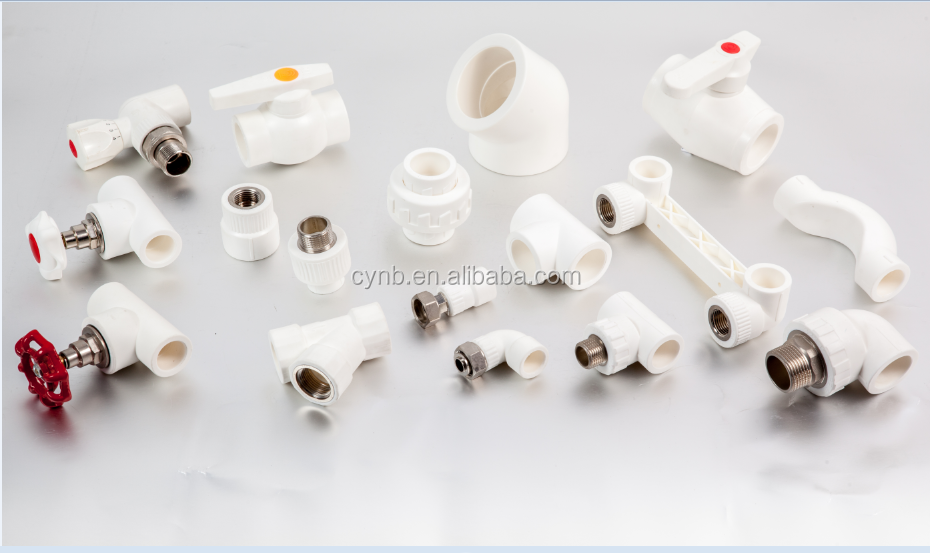 Butt welding pipe fitting China supplier, types list ppr names pipe fittings