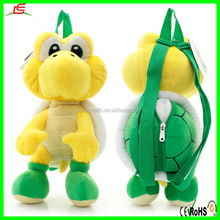 charming plush soft turtle shaped backpack