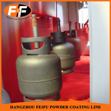 Batch Powder Coating Spray Paint Booths for Gas Cylinder