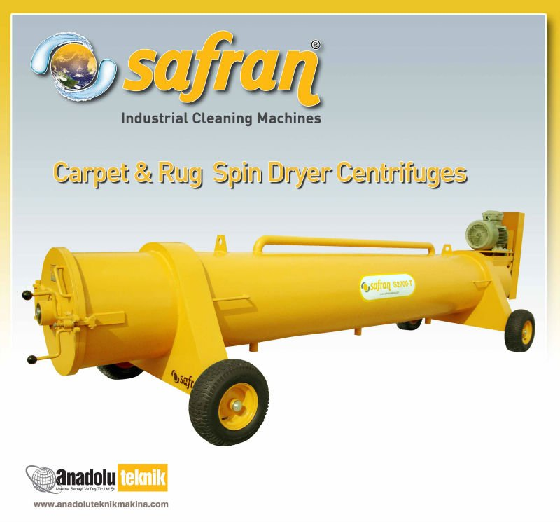 Carpet & Rug Spin Centrifugal Dryer S2300T