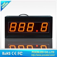 led clock countdown sign \ led countdown timer signage \ led timer countdown panel