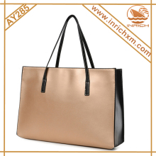 Fashion 2pcs Tote Handbag Set Leather Handbag Manufacturers
