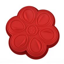 Flower shape custom chiffon silicone cake mould accessories decorating supplies baking tools tray maker cooker