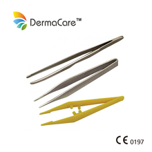 Disposable First Aid Sterile Medical Plastic Tweezers/Forcep