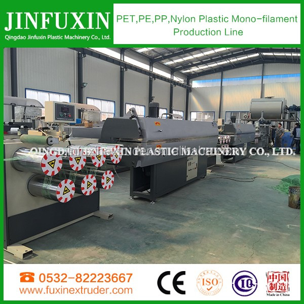 Plastic polyester brush filament extruder machine /PP/PE/PET/Nylon monofilament extruder machine