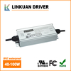 UL FCC TUV Certified AC/DC 110VAC 2.7A 100W 12V 24V LED Power Supply for LED Strip Light