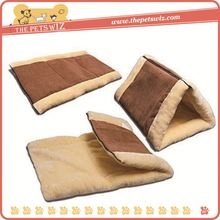 Soft plush cat tunnel cat bed p0wHN self-heating cat bed mat for sale