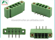 3.81mm plug in terminal block connector LF2EDGV / R with 3.5mm / 3.81mm pitch