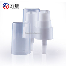 Plastic cometic face cream treatment pump 22/410
