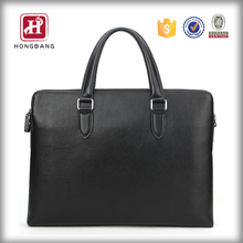 PU leather loptop bag tote men's notebook PC bag