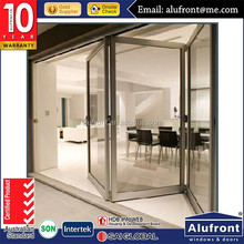 Australia standard aluminum bi fold door for commercial and residential