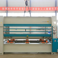 100 tons Hydraulic hot press for woodworking