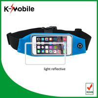 top quality light reflective race belt elastic belt pack