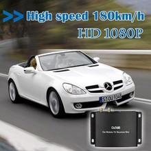 High speed H.265 HEVC Car dvb t2 digital tv receiver supporting up to 250KM/H in Germany