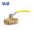 1 Inch Valogin 600WOG Lead-Free SWT Forged Brass Ball Valve With Full-Certified