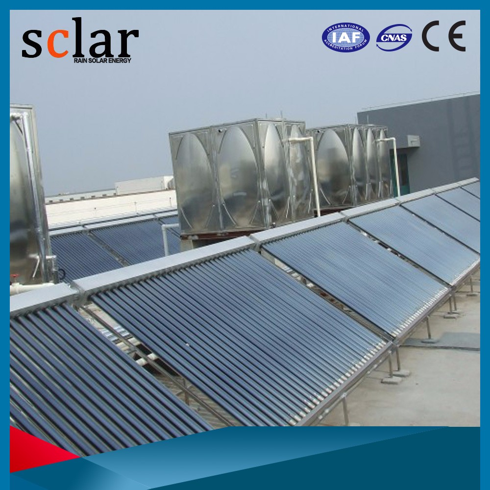 High efficiency outdoor solar shower/ solar water heating system/ solar water heater controller