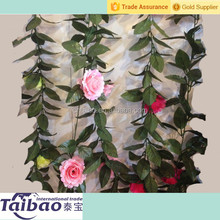 230cm wedding decoration wall dried rose flower wall decoration