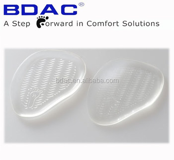 metatarsal massaging non-skid gel forefoot pads adhesive metatarsal cushion