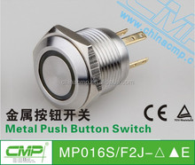 16mm Dot or Ring Indicator Push Button Switch
