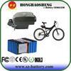 Factory OEM Customized 36v 20ah frog electric bike battery