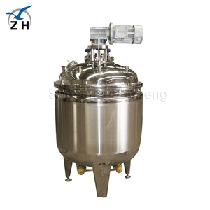 SS304 316 Hot Water Jacketed Steam Stainless Steel tank mixing
