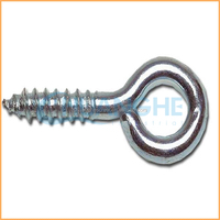 High quality customized black zinc plated eye screws made in China