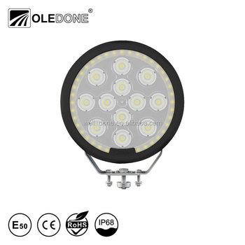 OLEDONE PATENT UNIQUE 7inch 4x4 SUV IP68 waterproof 120W Giant Round High Brightness LED driving light round LED off road light.