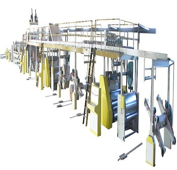 3/5/7layer corrugated cardboard production line