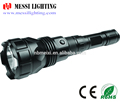 CE ROHS Approved Aluminum rechargeable T6 led High-Mid-low/Flash-SOS flashlight