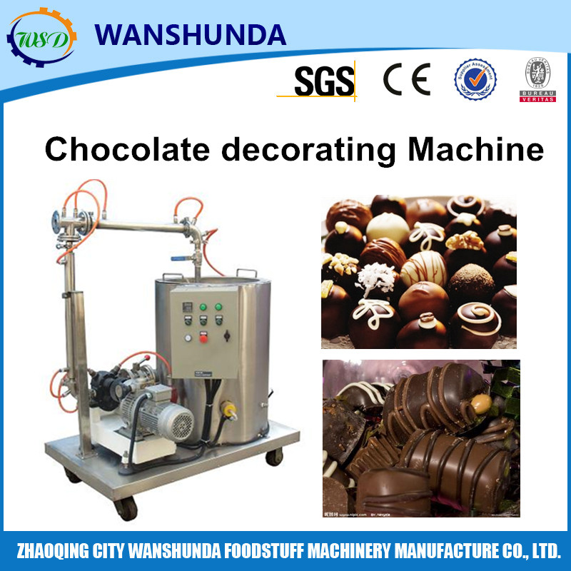 Chocolate Pattern Decorating Machine