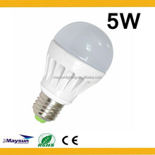 China zhongshan Factory Directly Sell! plastic led bulbs P45 A60 R50 R63 C37