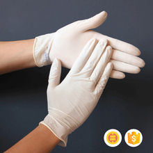 Comfortable new design latex examination gloves in malaysia