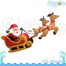Funny Outdoor Xmas Inflatable Christmas Father Model for Sale