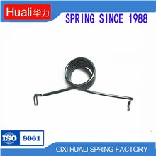 Professional customize small spiral zinc torsion springs