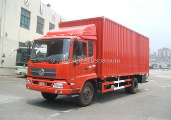 EURO 3 Dongfeng Van-type cargo truck for sale