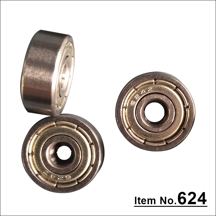 Stable performance super precision deep groove ball bearing 624Z auto bearing