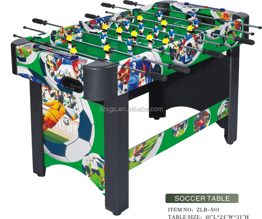 2015 Professional football soccer table /mini game table for kids