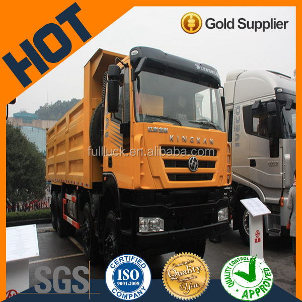 Euro 4 Hongyan 12-speed heavy-duty dump truck