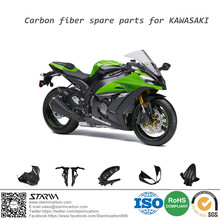 Custom Carbon Fiber motorcycle spare parts motorcycle parts for kawasaki zx10r 04-05