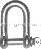 Commercial Zinc plated Oxidation Resistance Dee Shackle